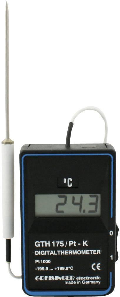 Teplomer Greisinger GTH 175/Pt-K, -199,9 až +199,9 °C