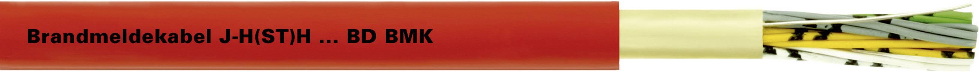 Signalizační kabel LappKabel J-H(ST)H...BD 2X2X0,8 (30017798), 9 mm, červená, 500 m