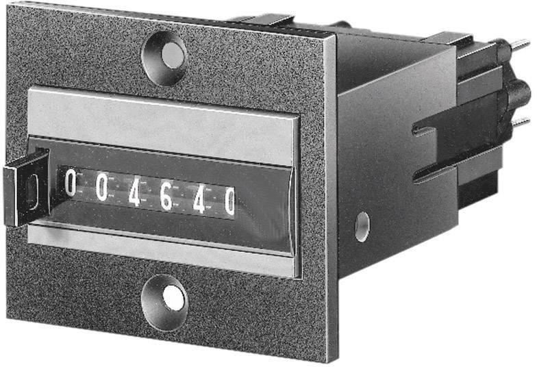 Panelový čítač Hengstler CR0464190, typ 464/468, 6-miestny