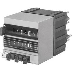 Čítač s přednastavením Hengstler CR0446764, typ 486/446, 24 V/DC, elektrický reset