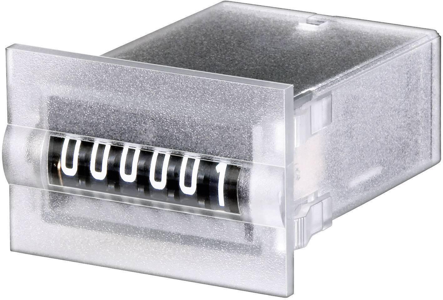 Mini čítač impulzov na panel Hengstler 634 CR0634810, 24 VDC