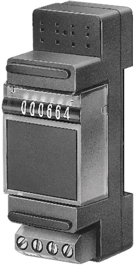 Čítač impulzov na DIN lištu Hengstler 635 CR0635550, 115 a 230 VAC/VDC