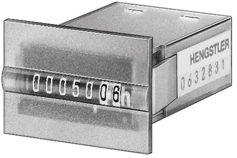 Mini počítadlo provozních hodin Hengstler 633, CR0633834