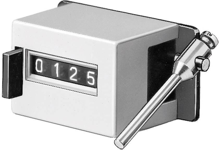 Mechanické počítadlo otáčok Hengstler, CR0125105, 1:1