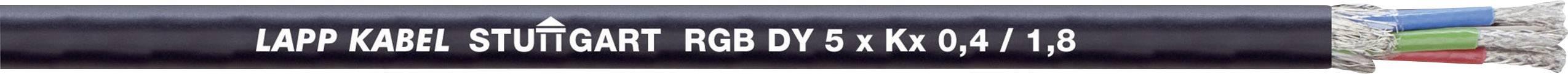 Multicore kábel LappKabel 0034246, čierna, 500 m