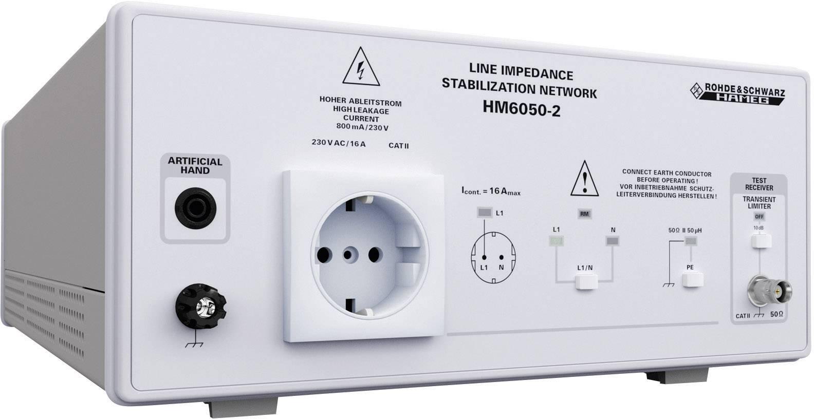 Linkový impedanční stabilizátor sítě Rohde & Schwarz HM6050-2 3593.0351K02