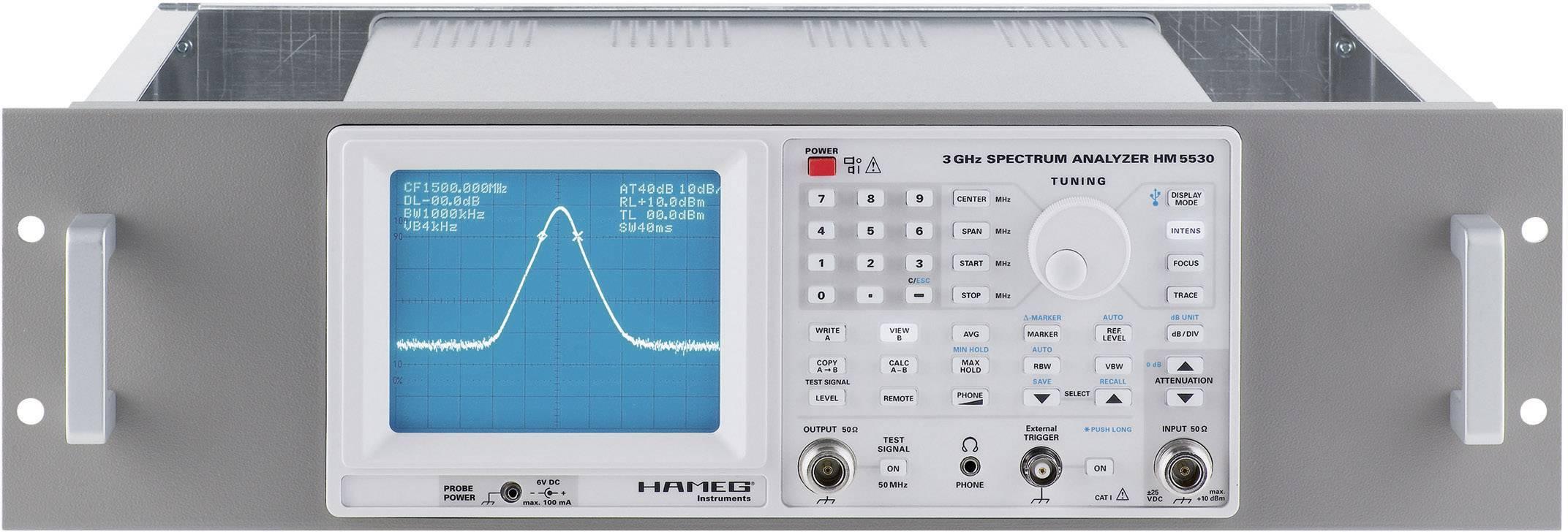 "Pouzdro pro Hameg HZ43 do racku, 48,26 cm (19"")"