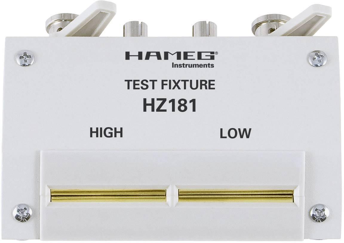 Testovací adaptér se zkratovacím panelem Hameg HZ181, 4drátový