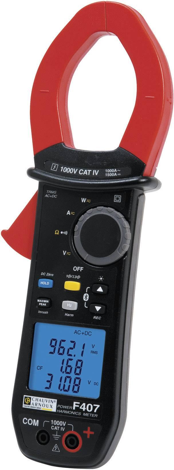 Digitální proudové kleště, multimetr Chauvin Arnoux F407