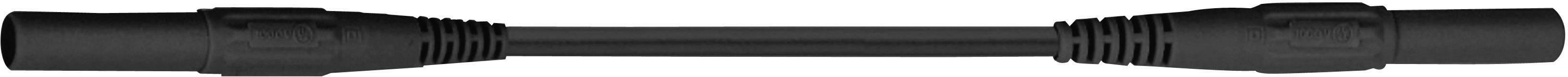 Merací kábel Multicontact XMF-419, 2,5 mm², 2 m, čierny