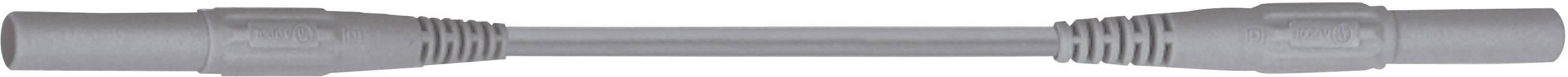 Merací kábel Multicontact XMF-419, 2,5 mm², 0,5 m, sivý