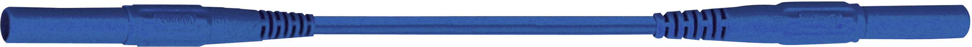 Merací silikónový kábel Multicontact XMS-419, 2,5 mm², modrý, 2m
