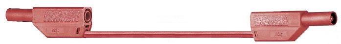 Bezpečnostné meracie káble Multicontact SLK425-E PVC, 0,75 m, červené