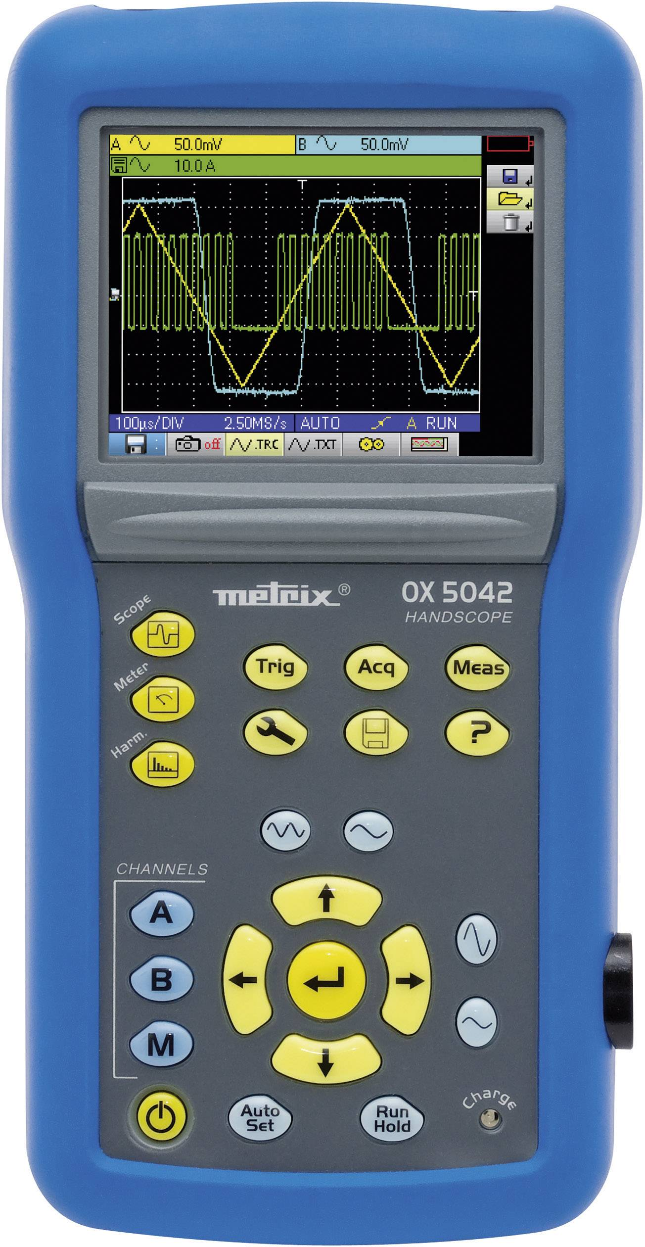 Ručný osciloskop Metrix OX5022-CK, 20 MHz, 2-kanálová