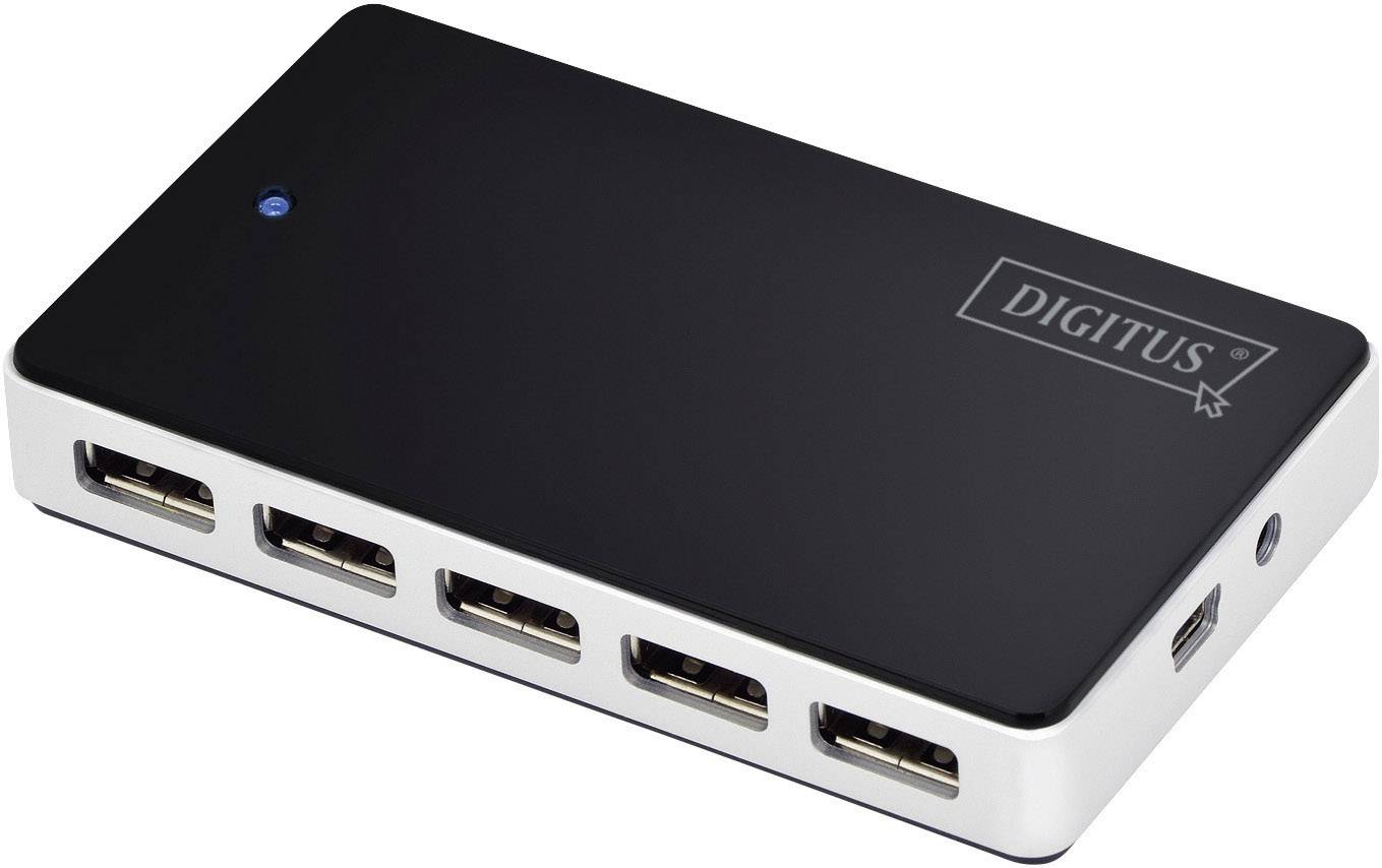USB hub 2.0, 10-port, Digitus