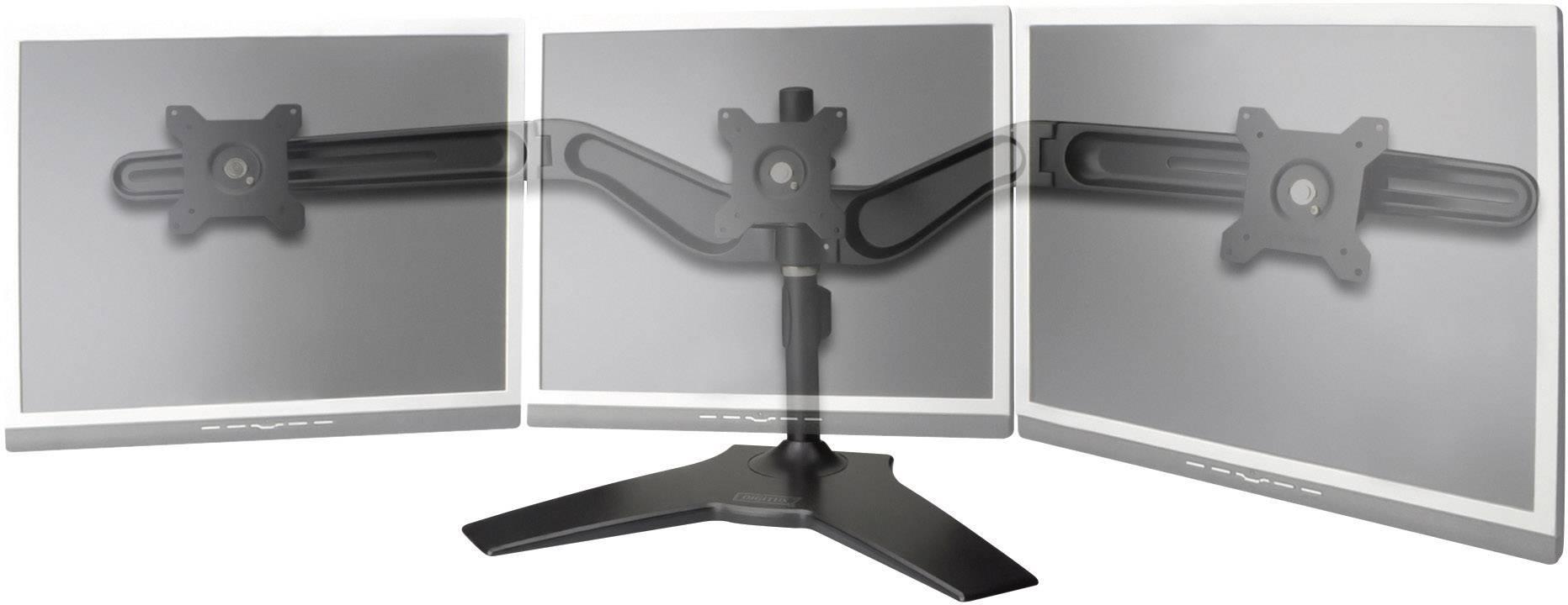 """Stolní držák na 3 monitory, 38 - 61 cm (15"""" - 24""""), černá, Digitus"""