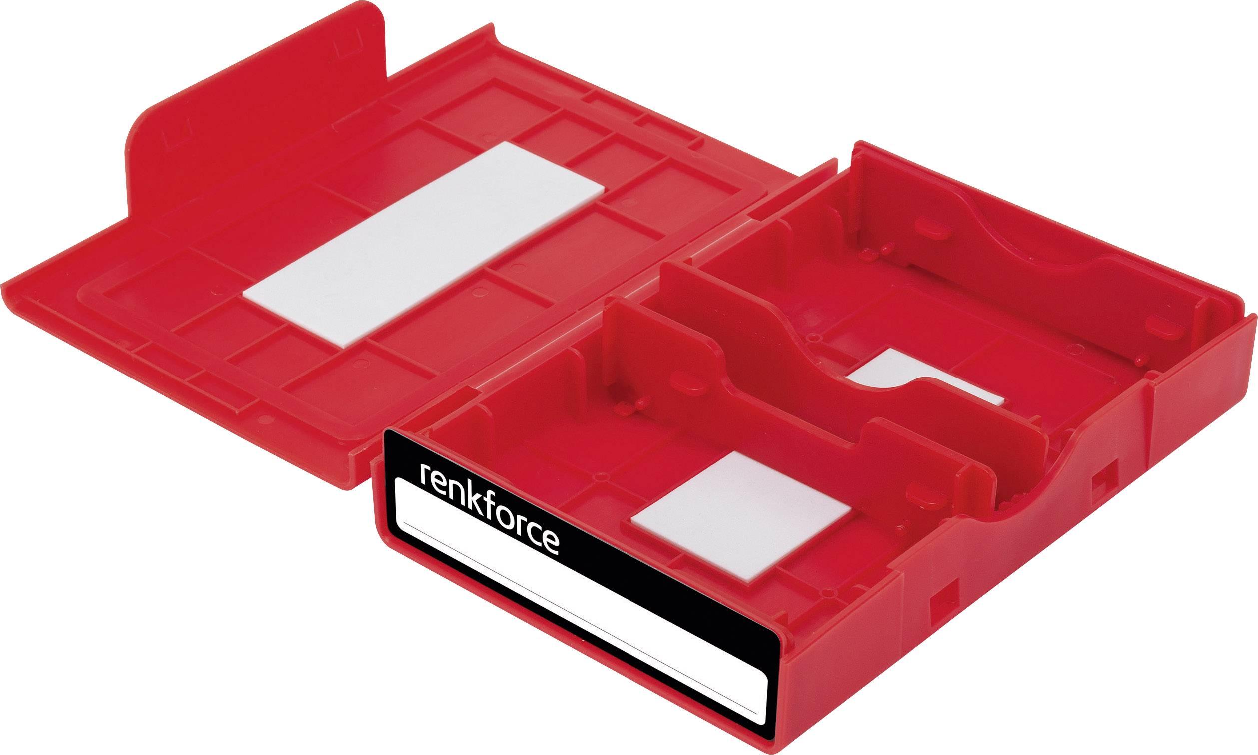 """Pouzdro na pevný disk Renkforce, HY-EB-8500, 3,5"""", červená"""