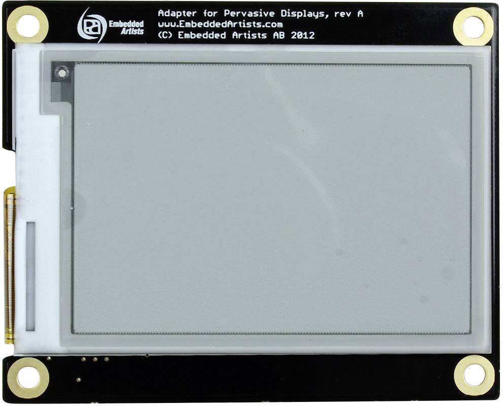 Modul displeja ePaper Embedded Artists EA-LCD-009