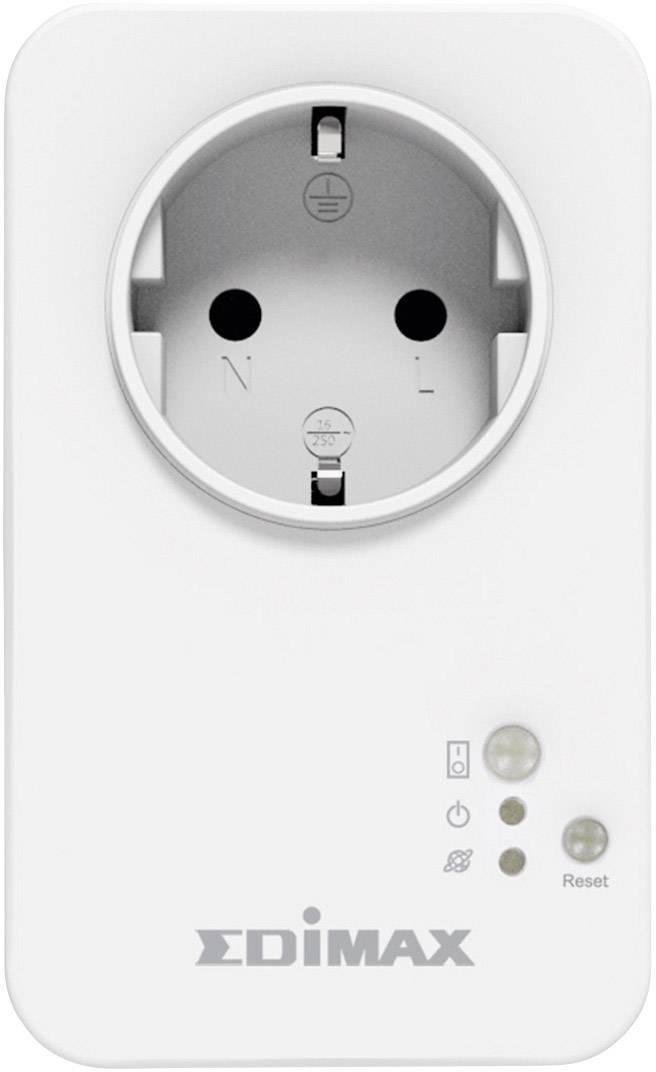 Spínacia zásuvka Edimax Smart Plug ovládaná prostredníctvom smartphonu, WiFi, Android a iOS