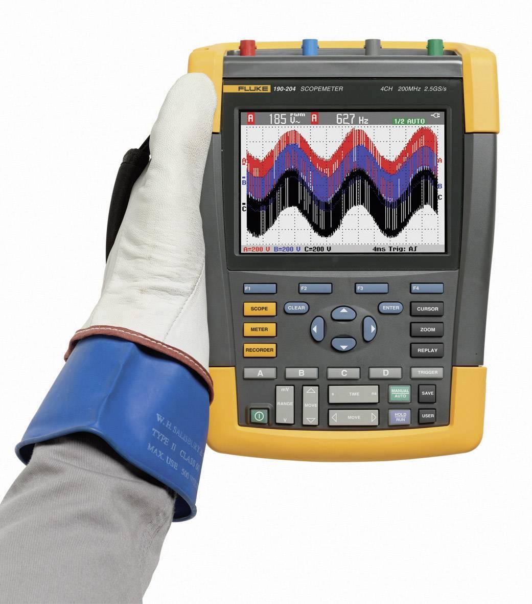 Ručný osciloskop Fluke ScopeMeter 190-104/EU/S, 100 MHz, 4-kanálová