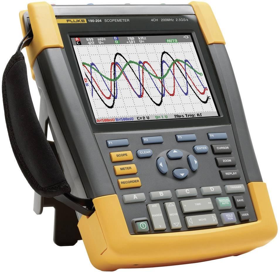 Ručný osciloskop Fluke ScopeMeter 190-104/EU, 100 MHz, 4-kanálový