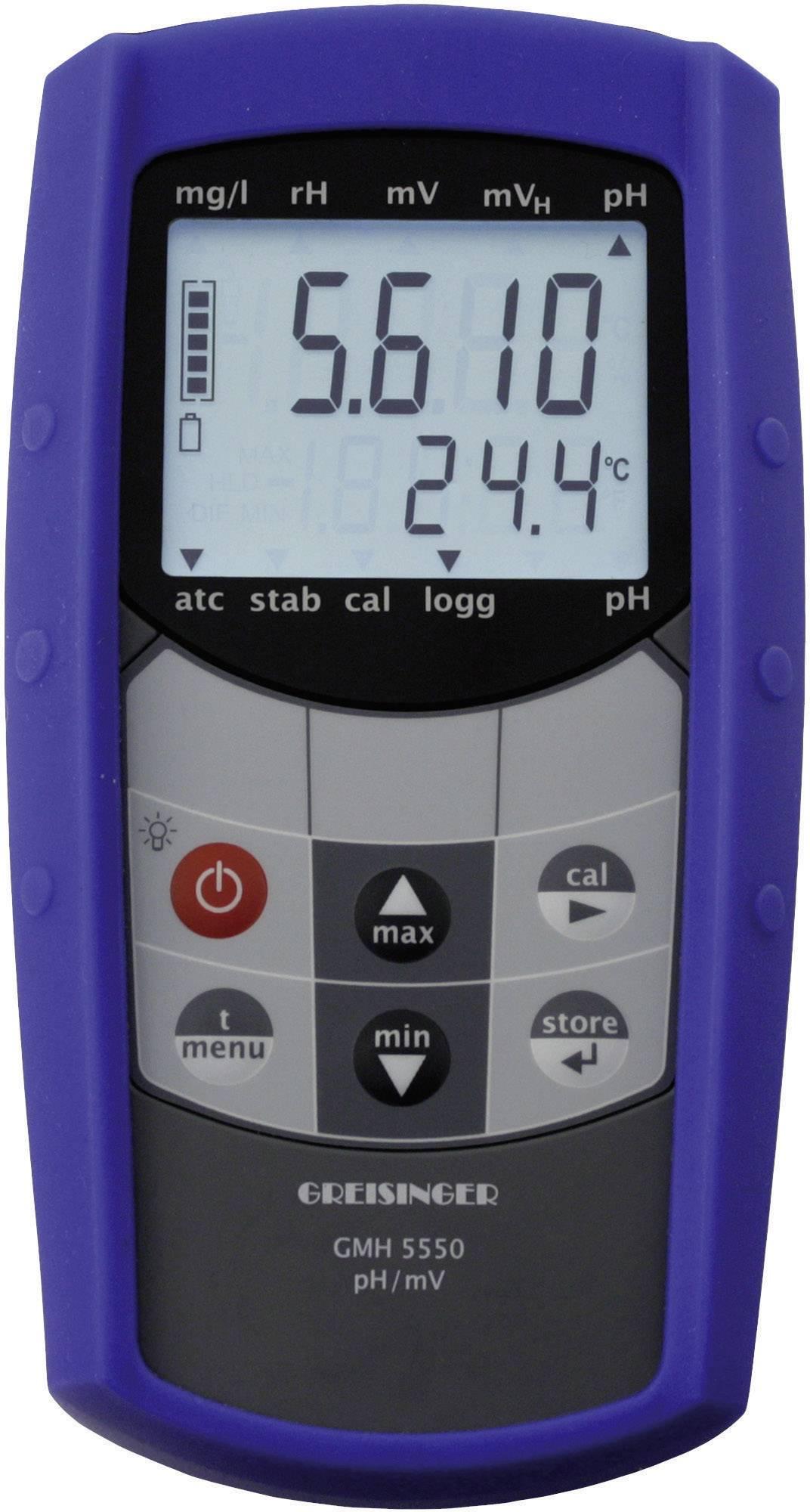 Vodeodolný pH/Redox ručný prístroj Greisinger GMH 5550