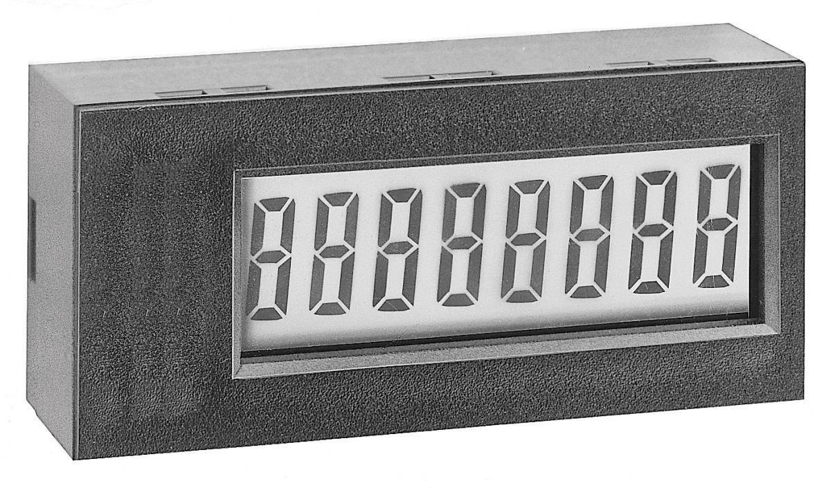 Elektronický čítač impulzov TDE Instruments 7401AS