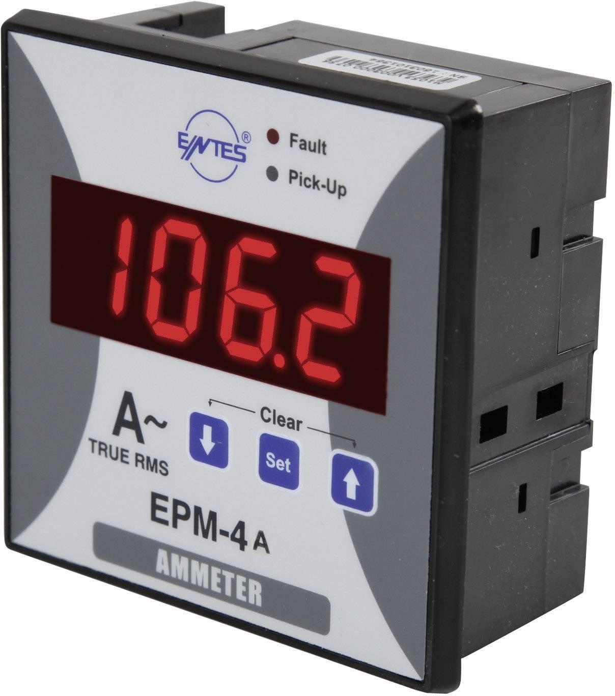 Panelový programovateľný ampérmeter ENTES, EPM-4A-96, 50 mA - 10 kA