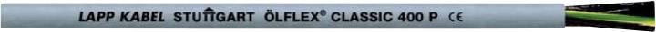 Řídicí kabel LappKabel ÖLFLEX® CLASSIC 400 P 1312204, 4 G 1 mm², vnější Ø 6.50 mm, šedá, 50 m