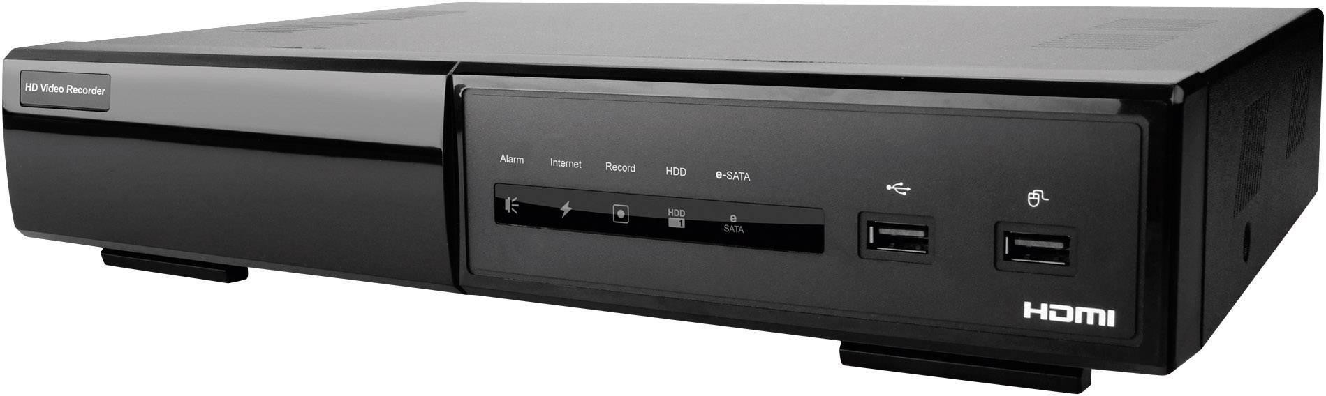 Sieťový IP videorekordér (NVR) pre bezp.kamery Digitus Professional DN-16114, 4-kanálový