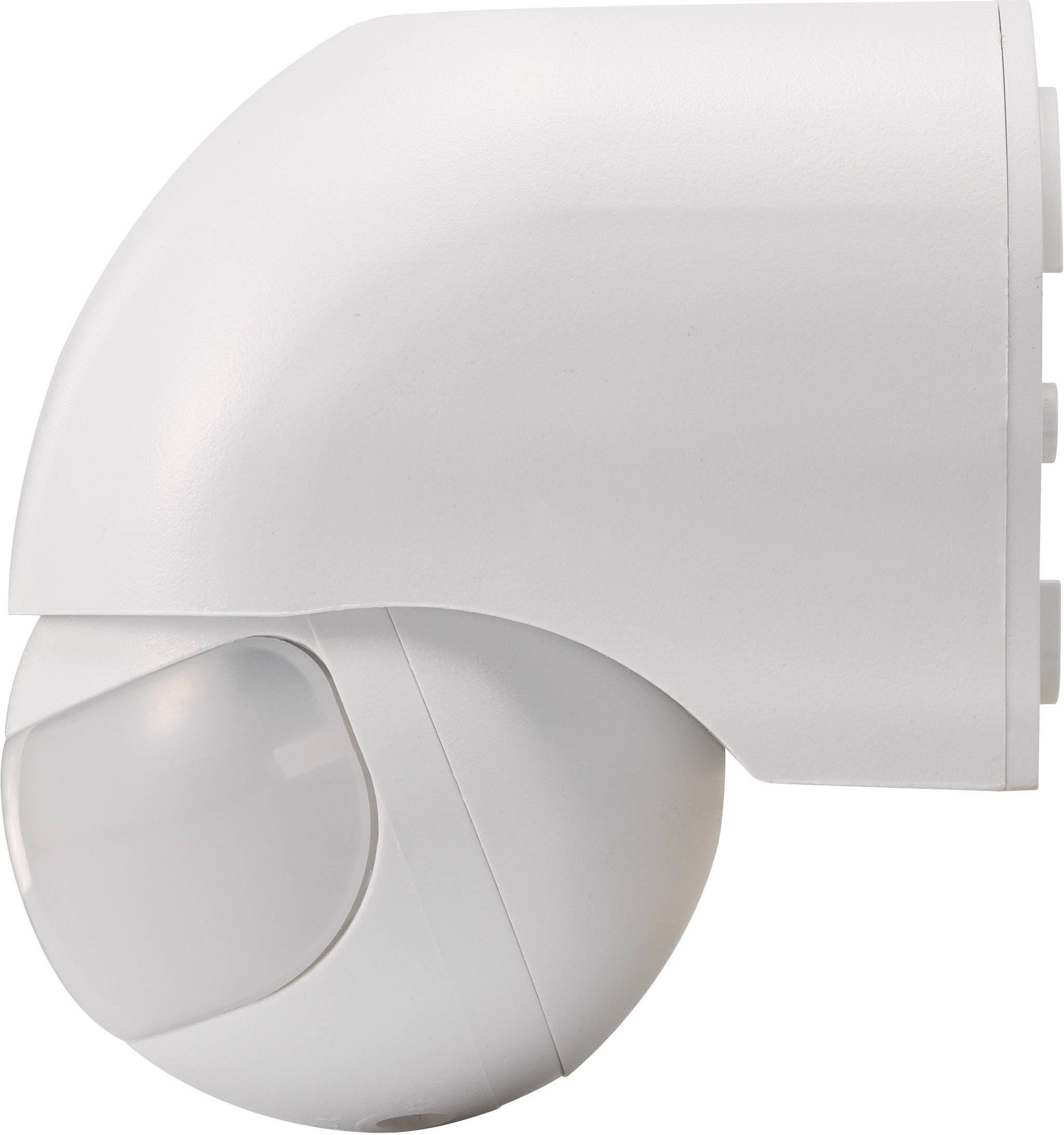 Detektor pohybu PIR Renkforce 1034069, 160 °, relé, bílá, IP44