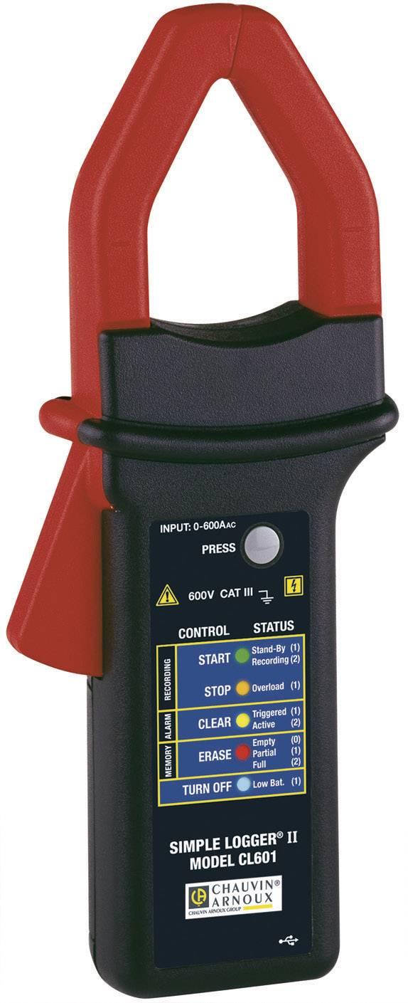 Ampérmeter s dataloggerom (meračom) Chauvin Arnoux P01157010 0 do 600 A