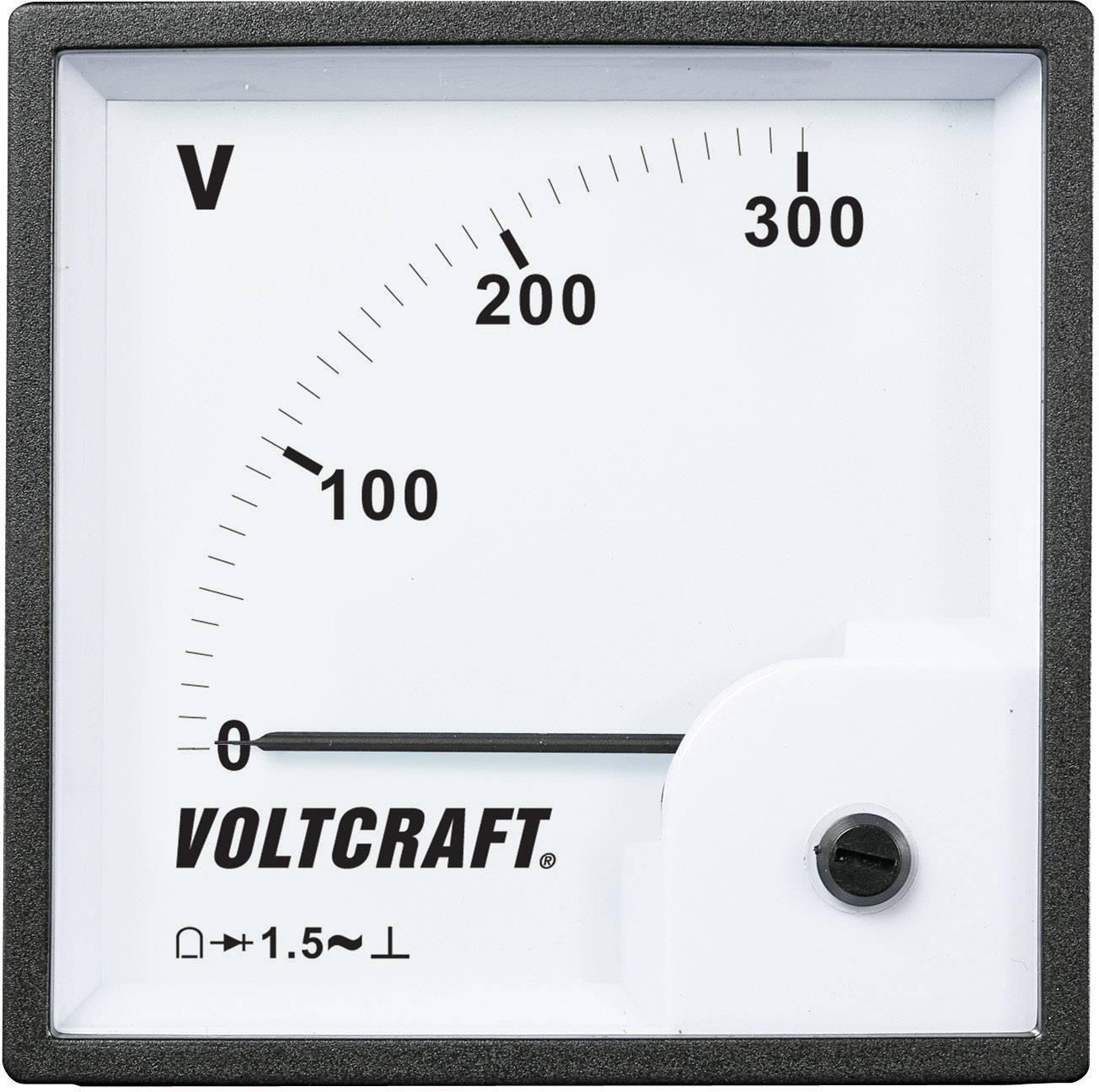 Panelové meradlo Voltcraft AM-96x96, 300 V