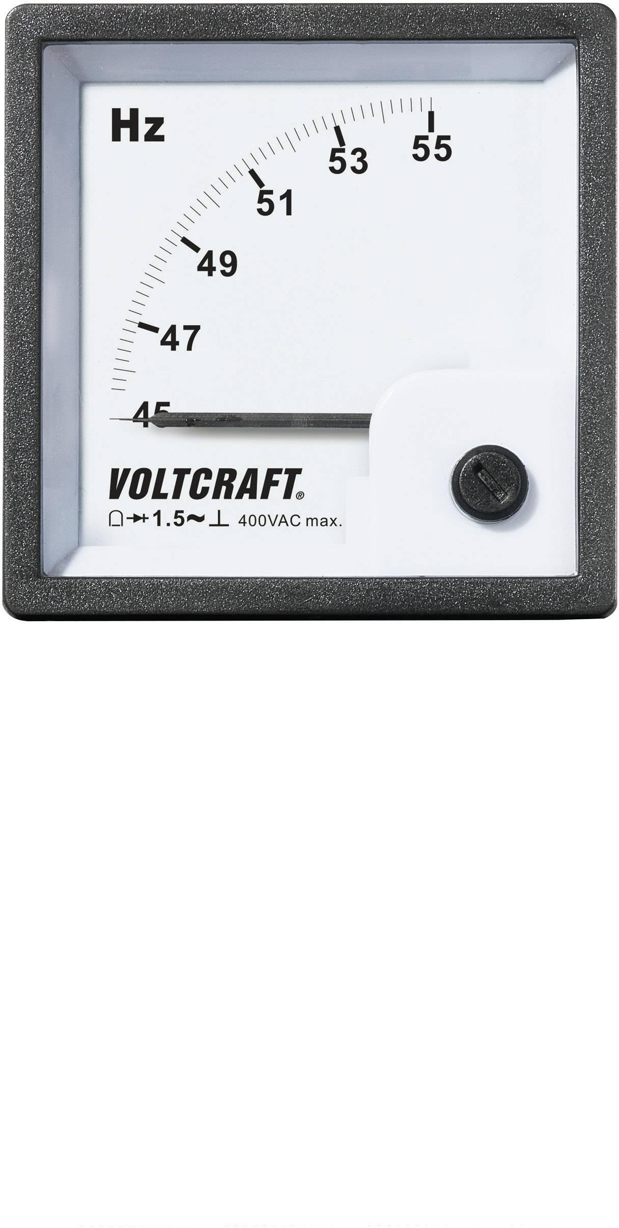 Panelové meradlo Voltcraft AM-72x72, 50 HZ