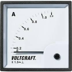 Panelové meradlo Voltcraft AM-72x72, 1 A