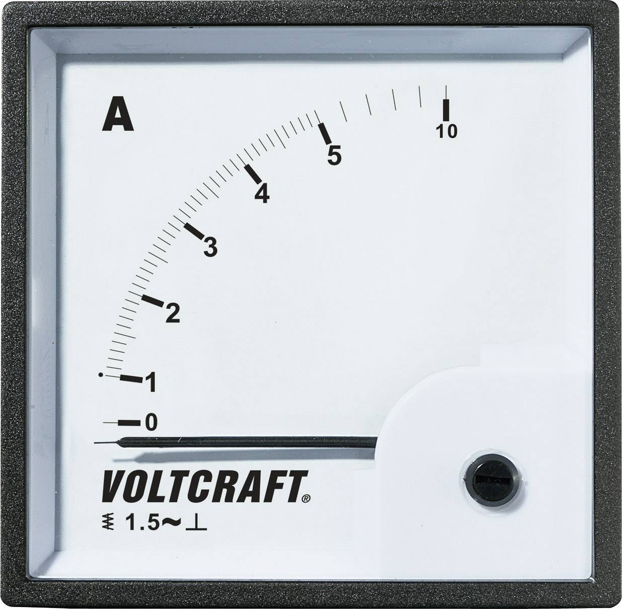 Panelové meradlo Voltcraft AM-72x72, 5 A