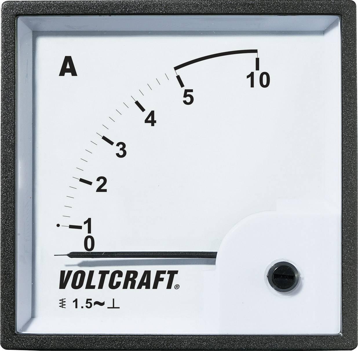 Panelové meradlo Voltcraft AM-96x96, 5 A