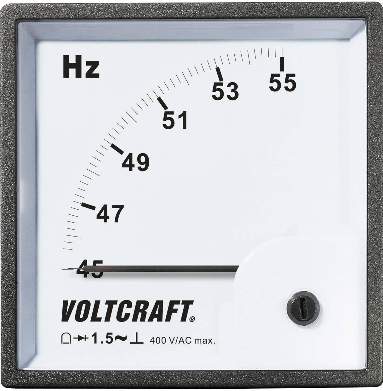 Panelové meradlo Voltcraft AM-96x96, 50 HZ