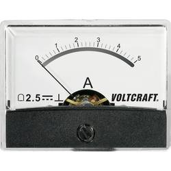 Analogové panelové měřidlo VOLTCRAFT AM-60X46/5A/DC 5 A