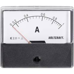 Panelové meradlo Voltcraft AM-70x60, 1 A