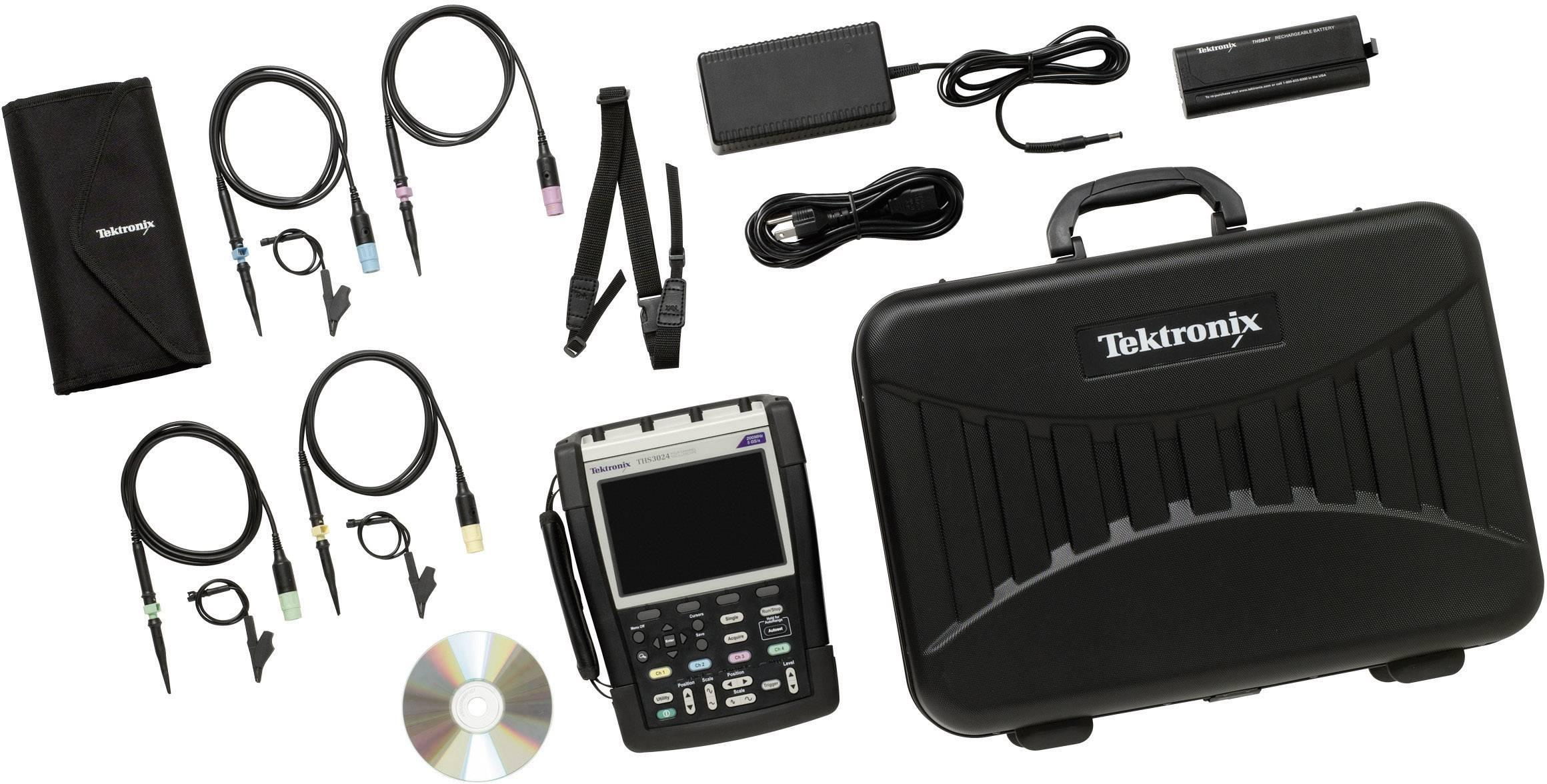 Ručný osciloskop Tektronix THS3024-TK, 200 MHz, 4-kanálový
