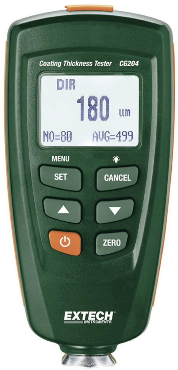 Ultrazvukový merač hrúbky vrstvy a laku Extech CG204