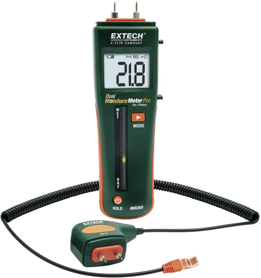 Merač vlhkosti stavebných materiálov Extech MO265