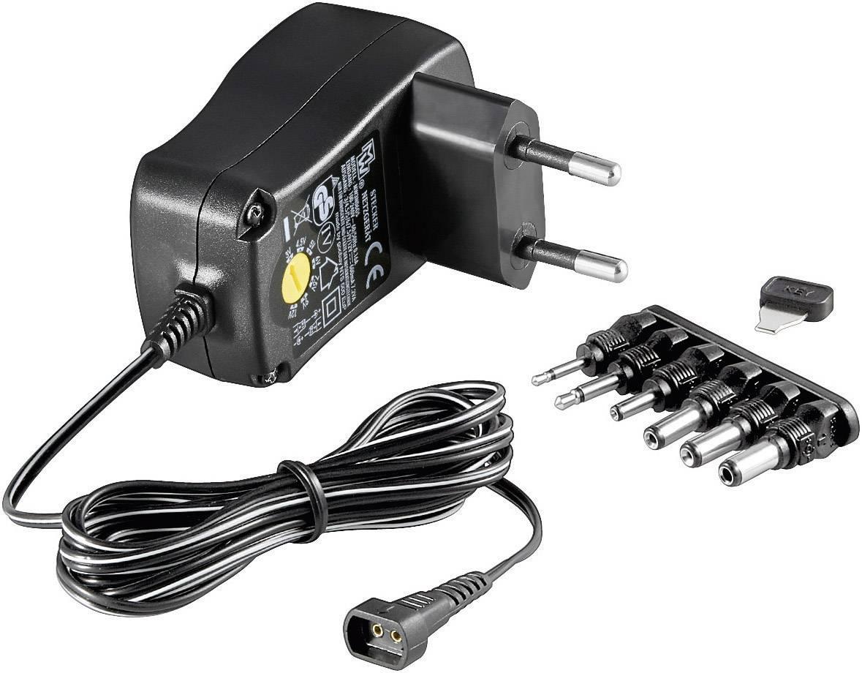 Sieťový adaptér Goobay 67950, 3 - 12 V/DC, 600 mA