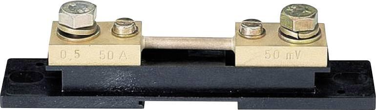 Vedľajší (paralelný) rezistor Weigel, 50 A (50 mV)