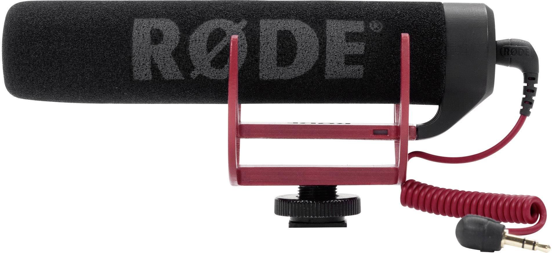 Kamerový mikrofón RODE Microphones VideoMic GO, prenos:priamy