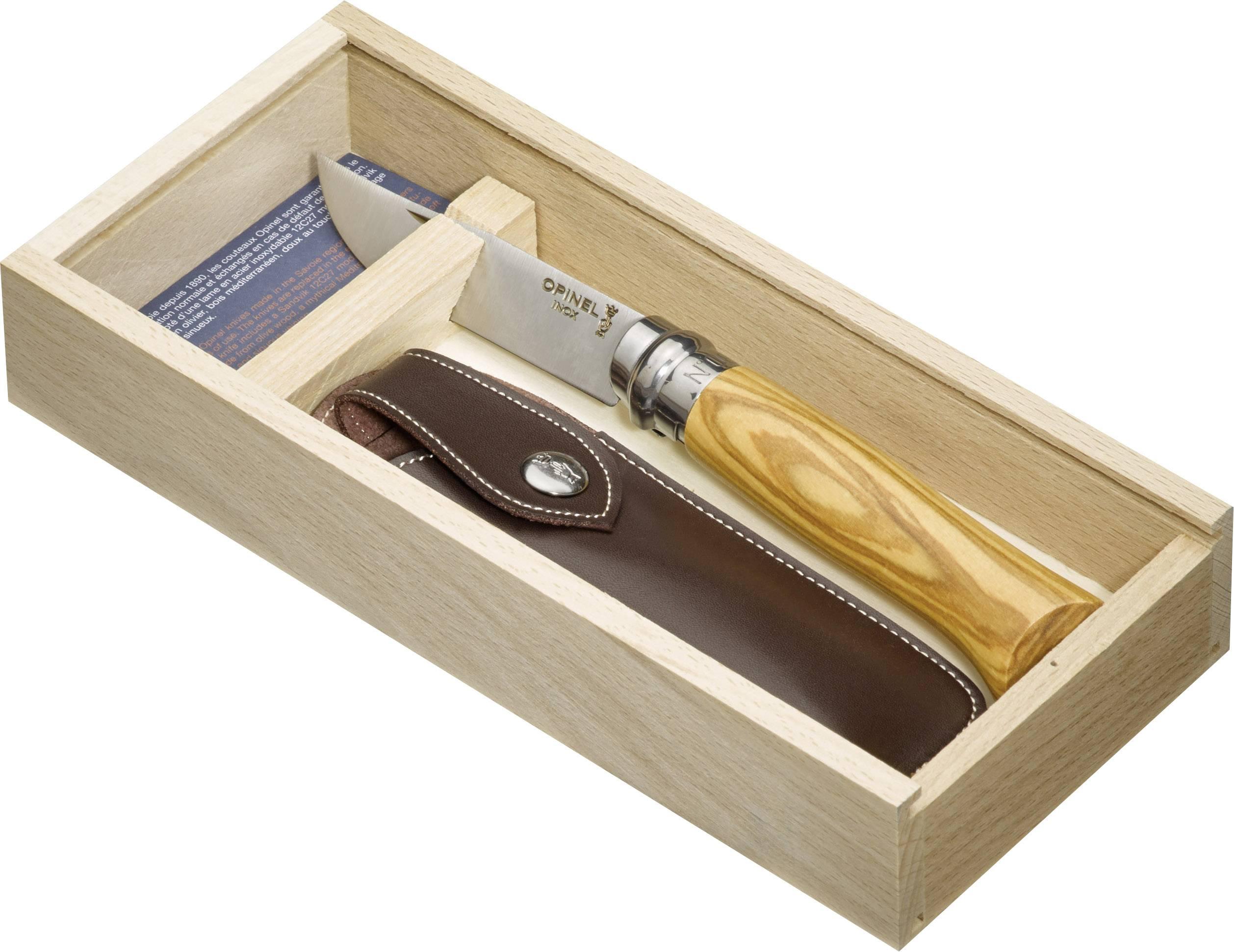 Kapesní nůž Opinel No8 254139, dřevo, chrom