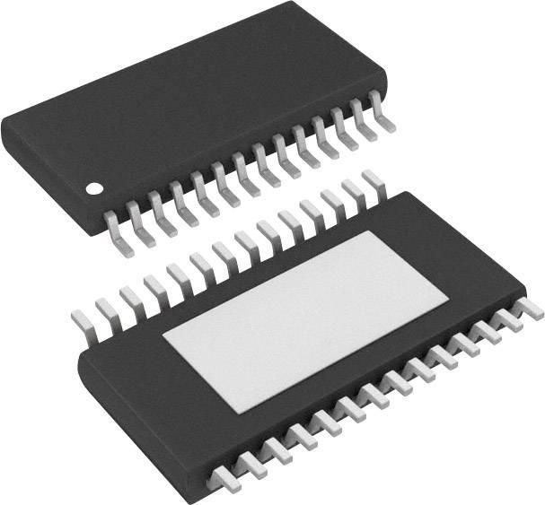 Zesilovač pro speciální použití Texas Instruments BUF11702PWP, Rail-to-Rail, HTSSOP-28 , 1 MHz