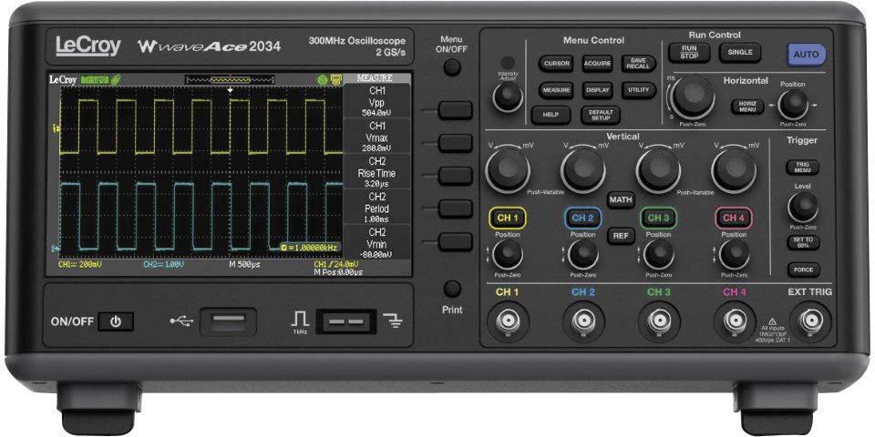 Digitálny osciloskop LeCroy WaveAce™ 1012, 100 MHz, 2-kanálový