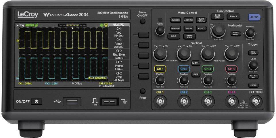 Digitálny osciloskop LeCroy WaveAce™ 2002, 70 MHz, 2-kanálový